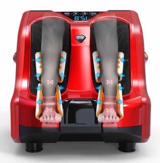 Auto Foot Therapy Electric Vibrating Foot Massager