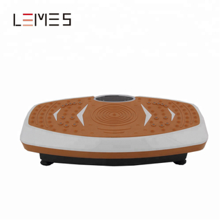 LEMES-S018 Home Gym Crazy Fit Massage Vibration And Oscillation Plate Exercise Machine
